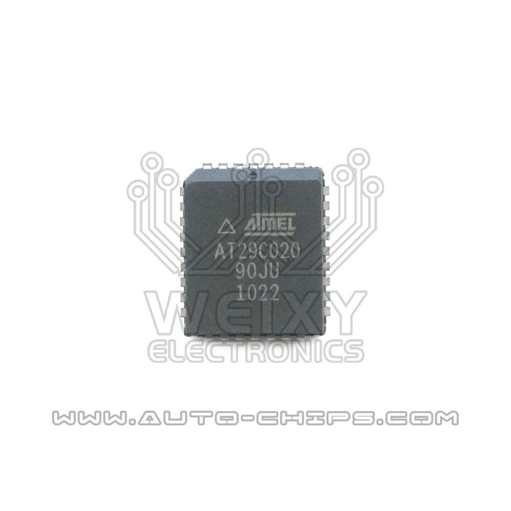 Chip flash PLCC de AT29C020-90JU utilizado para automóviles