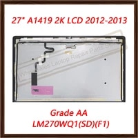 original for imac 27 2k a1419 lcd screen assembly 2012 2013 lm270wq1sdf1f2 lcd dispaly grade aa