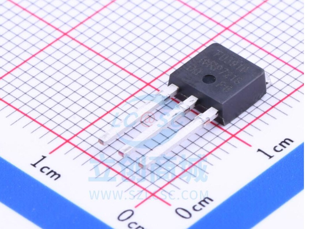 5/pcsoriginal   irfu3910rj45 irfu3910 to-251 ficha direta n-channel transistor ic chip