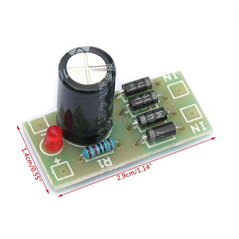 AC-DC Converter 6/12/24V To 12V Full-bridge Rectifier Filter Power Supply Module Logic ICs Au08 19 Dropship