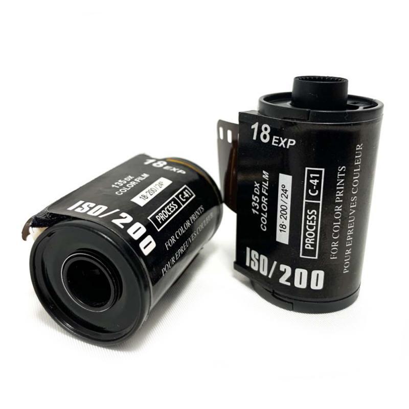 18 Sheets Color Print ISO 200 35mm Camera Film Portable Photo Paper For 135 Format Waterproof Camera Lomo Holga Dedicated