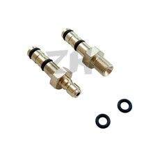 Fusil à Air comprimé PCP remplissage rapide/adaptateur de sonde de charge pour evanix, Logun, Webley, FX Hatsan 9mm OD pour trou de remplissage