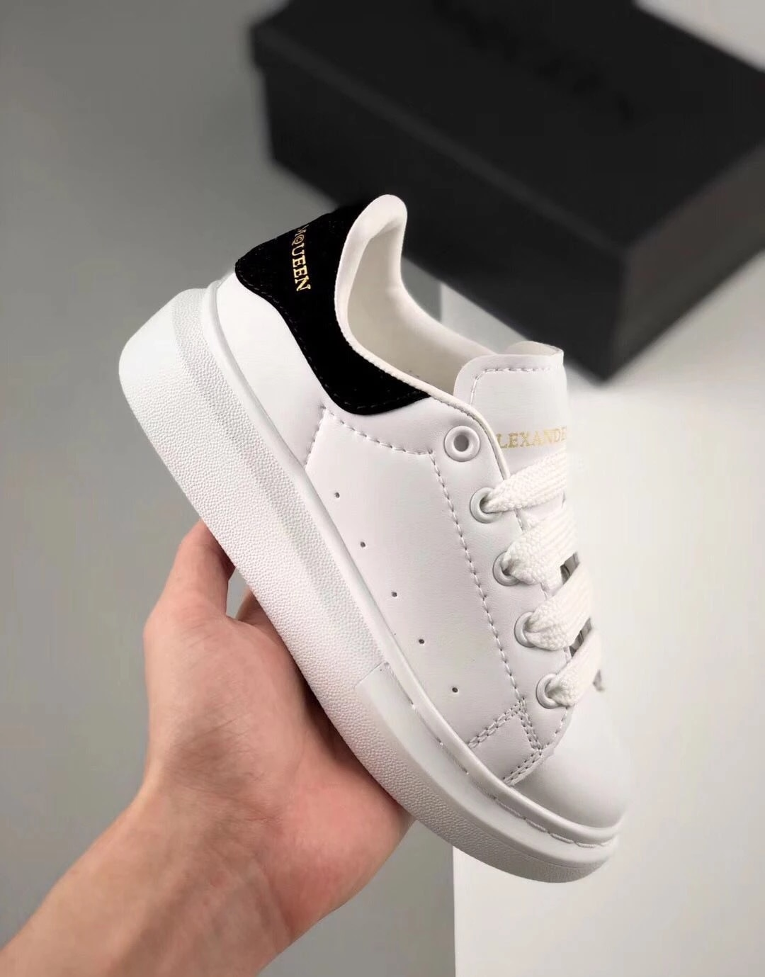 2021 Girls Boys Lace-Up Fashion Sneakers Toddler/Little/Big Kid Flatform Fashion Trainers Children G