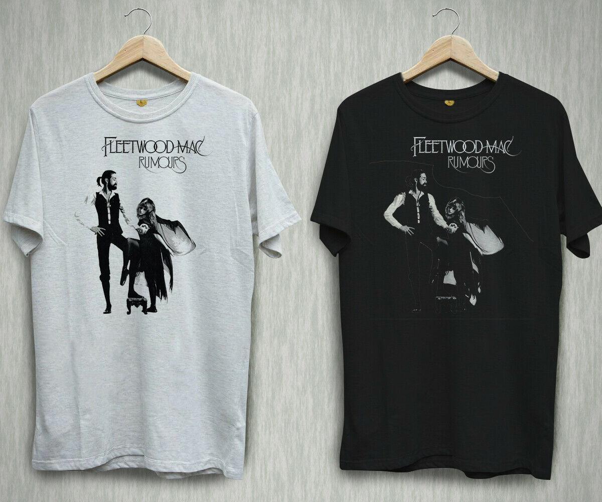 ¡Novedad! Camisetas Fleetwood Steve Nicks russies en blanco y negro, camisetas Xs 2Xl