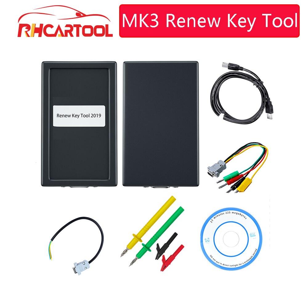 Herramienta de diagnóstico de renovación de llave OBD2 MK3 para Jeep Commander para AUDI, herramienta clave de dispositivo Renault, herramienta de programación de clave transpondedor