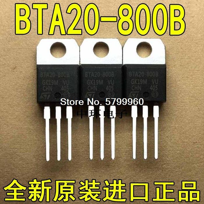 10 pçs/lote BTA20-800B PARA-220 20A/800V transistor