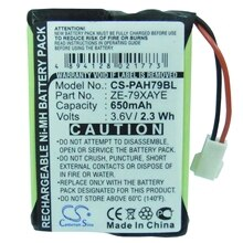 Cameron Sino 650mAh Battery ZE-79XAYE for Panasonic Handheld ZE-79, Handheld ZE-79UNCY, Handheld ZE-