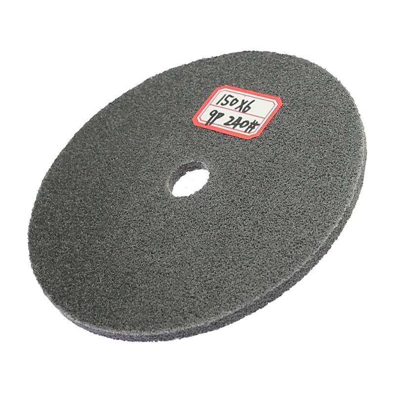 1 tükk 150 mm õhuke nailonist poleerimisketas roostevabast terasest - Abrasiivtööriistad - Foto 5