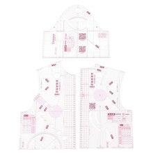 13 règle de Prototype de vêtement Quilting   Tailleur Transparent, outils bricolage règle de conception de tissu pour femmes, modèle de dessin