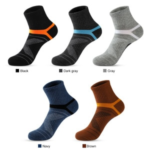 men socks sport Outdoor climbing Basketball Deodorant cotton socks New product socks cycling socks trail running solid color