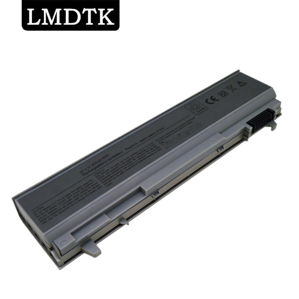LMDTK Novo 6 CÉLULAS bateria do portátil PARA DELL E6400 E6500 E8400 E6410 E6510 PT434 PT435 PT436 PT437 KY265 KY266 FRETE GRÁTIS