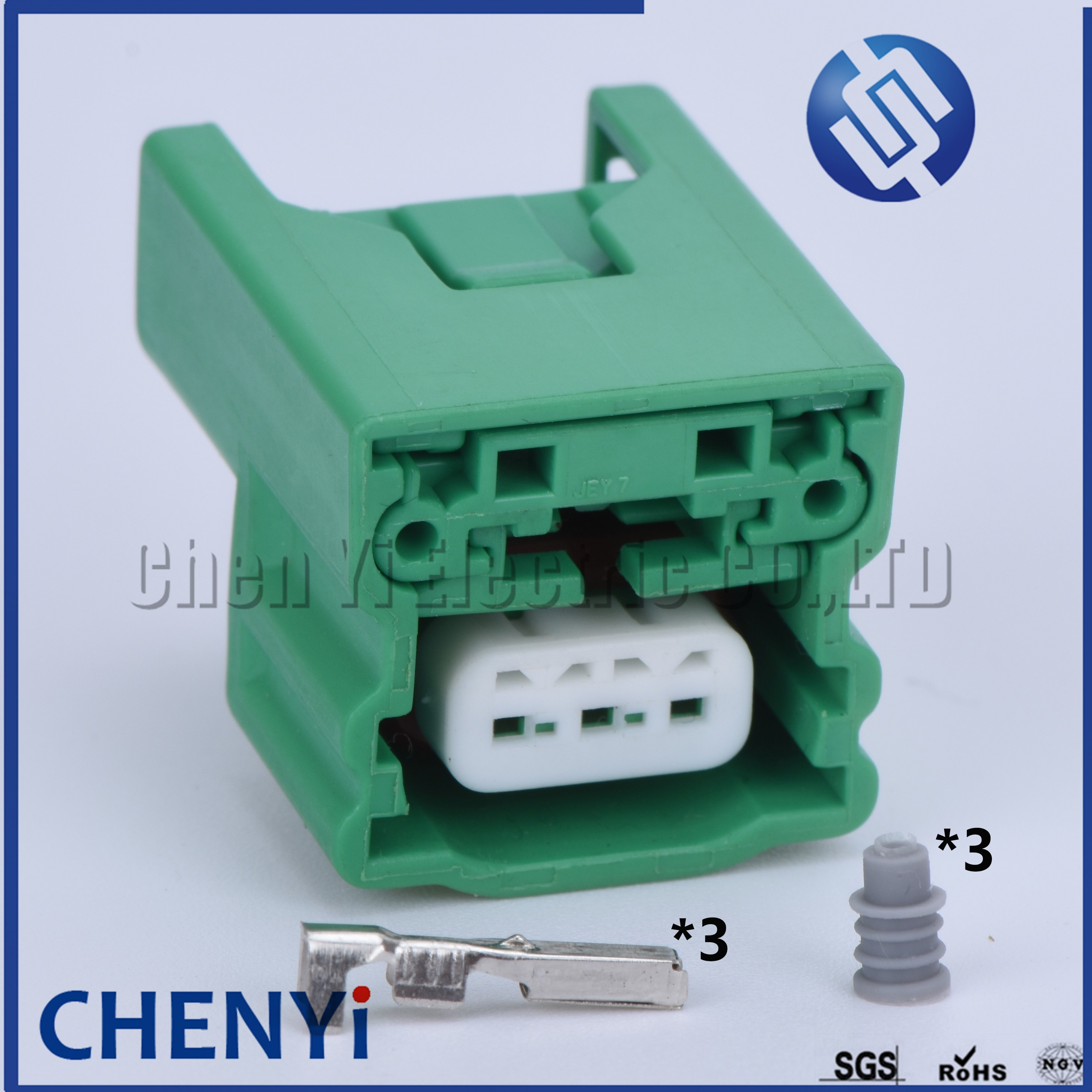 1 Juego de 3 pines 1,0mm hembra automotriz Sensor de posición de árbol de levas enchufe impermeable Auto conector Socket para Nissan MG643226-6