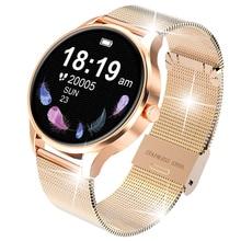2021 New IP68 Waterproof Smart Watch Women watch full circle screen Sleep Monitor Fashion Activity t