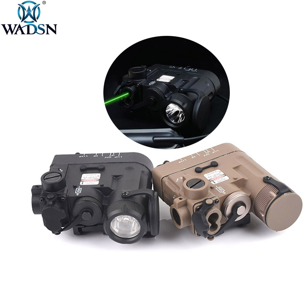 Wadgn Airsoft PEQ DBAL-D2 IR indicador láser verde DBAL-eMKII arma de caza linterna DBAL luz táctica