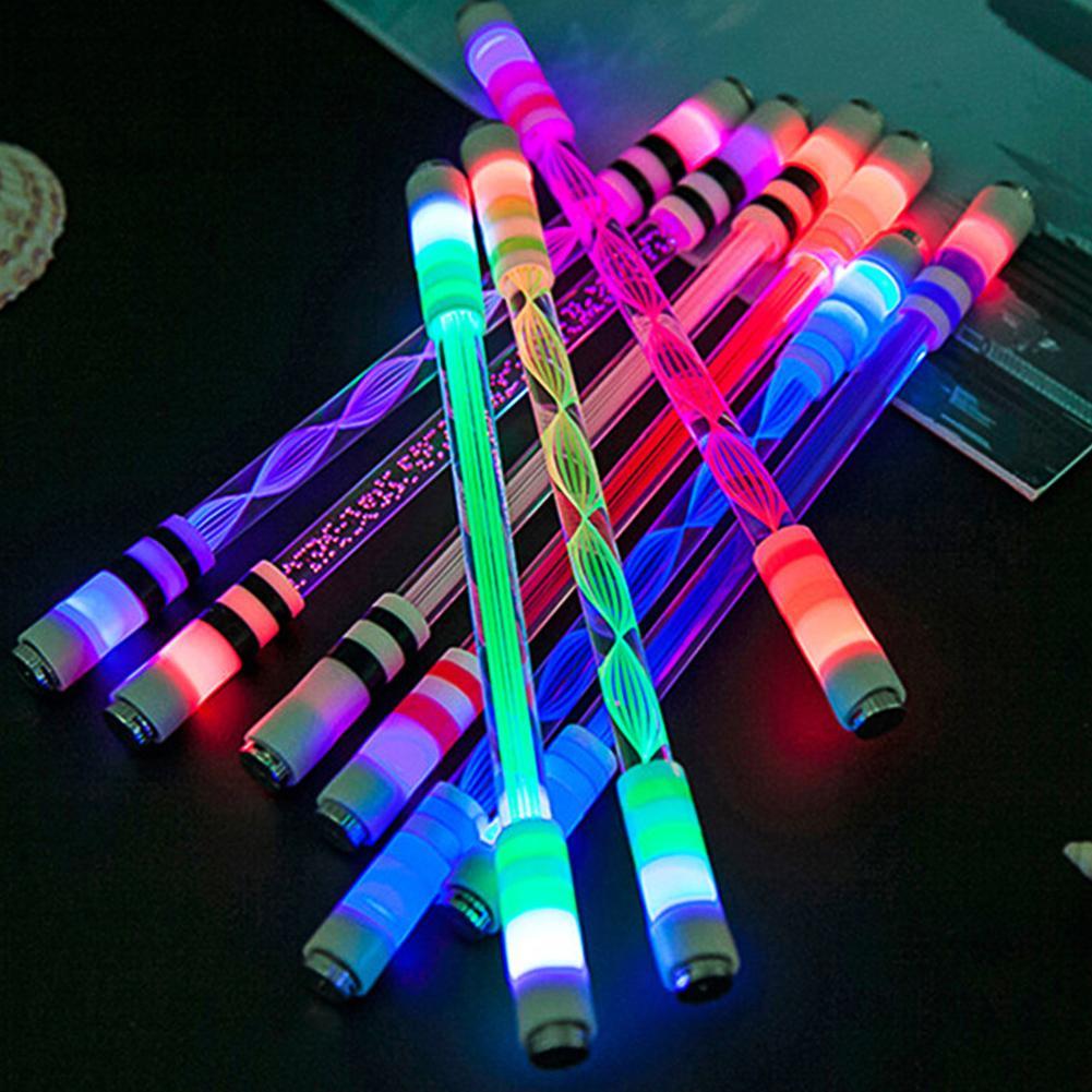 Фото - Спиннинговая ручка E15 с подсветкой, специальная ручка без заправки для детей, спиннинговая Вращающаяся ручка без масла, светящаяся ручка, ст... ручка