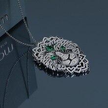 2019 new arrival maroko zielony lew naszyjnik łańcuch marka fajne oryginalny naszyjnik kobiety lady dziewczyna prezent