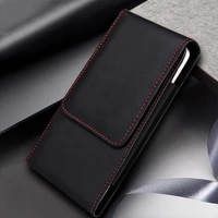 universal smartphone bag belt clip pouch leather case for samsung s20 plus s7 s8 belt clip holster a20 a30 a50 a70 s9 s10 cover
