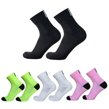 Cycling Socks Back Stripes Men and Women Professional Competition Bike Racing Socks Outdoor Sports S