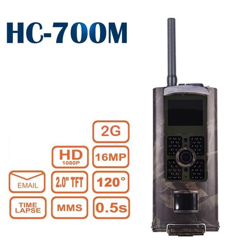 HC-700M Wildlife Trail Camera Photo Video Surveillance Hunting Camera MMS SMS 2G Trigger Night Vision 16MP Game Camera недорого