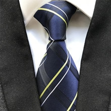 10 cm Width Classic Plaids Men's Ties Jacquard Woven Neck Tie Gravatas Silk Neckties for Men Gift