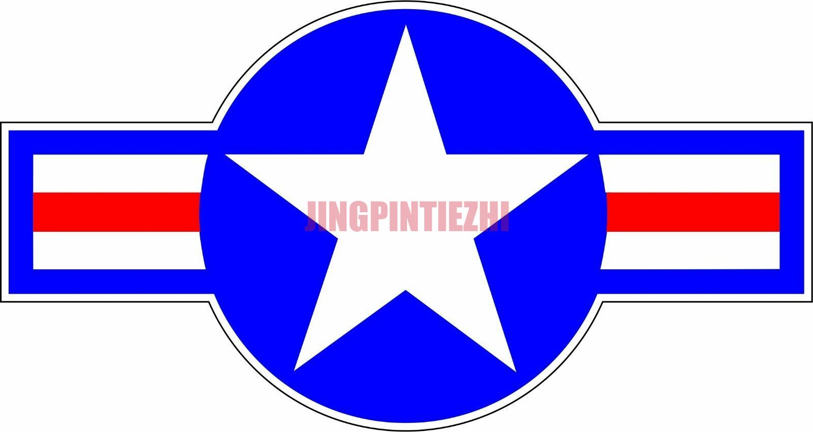 Индивидуальная Автомобильная наклейка Американский военный герб оружия USAF, военный логотип, наклейка на бампер, Виниловая наклейка, автомо...