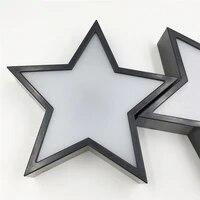Lampe Led en forme detoiles 3D creative  luminaire decoratif dinterieur  boite a lumiere pour le cinema  cadeau ideal pour les enfants  Message  nouveaute
