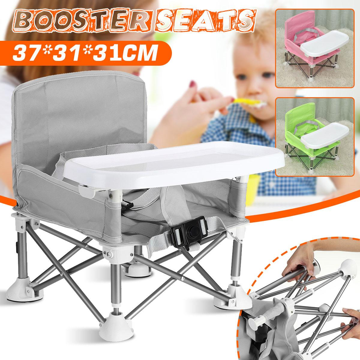 Baby Booster Seat Aluminum alloy Children Dining Table Portable Outdoor Folding Chair Multifunctional Baby Dining Chair