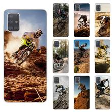 Amazing Bike Bicycle Phone Case For Samsung S5 S6 S7 S8 S9 S10 S20 plus lite A51 A71 A21S Transparen