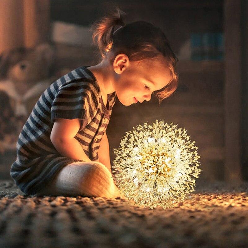 2021 Modern Crystal Dandelion Chandelier Lighting Pendant Lamp For Living Room Dining Room Home Decoration WF-P40GD Winfordo
