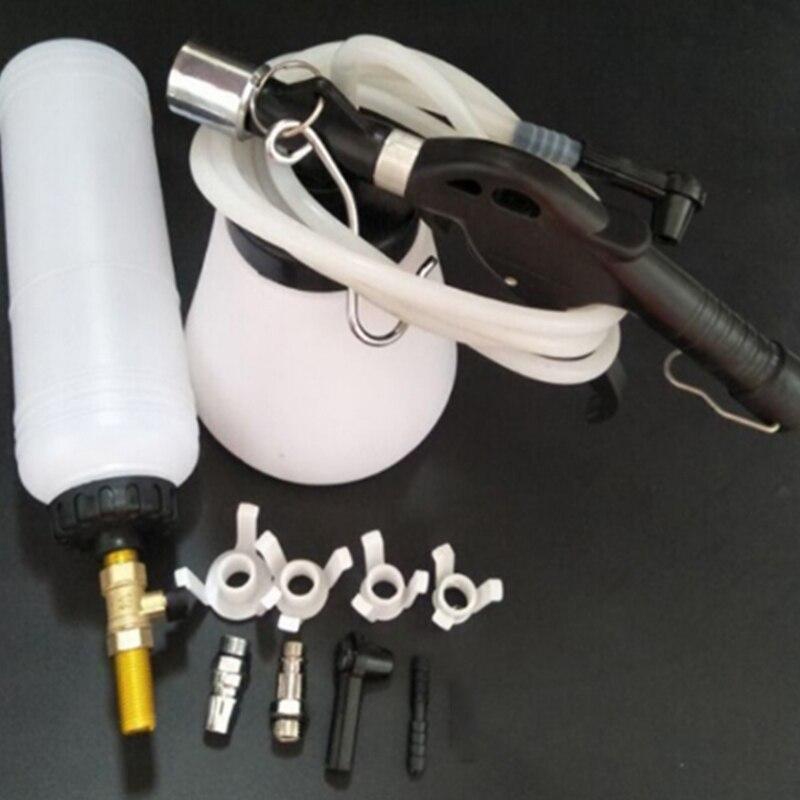 Auto lkw motorrad automatische pneumatische brems flüssigkeit bleeder verwenden auto bremse air outlet öl pumpen brems öl bremse