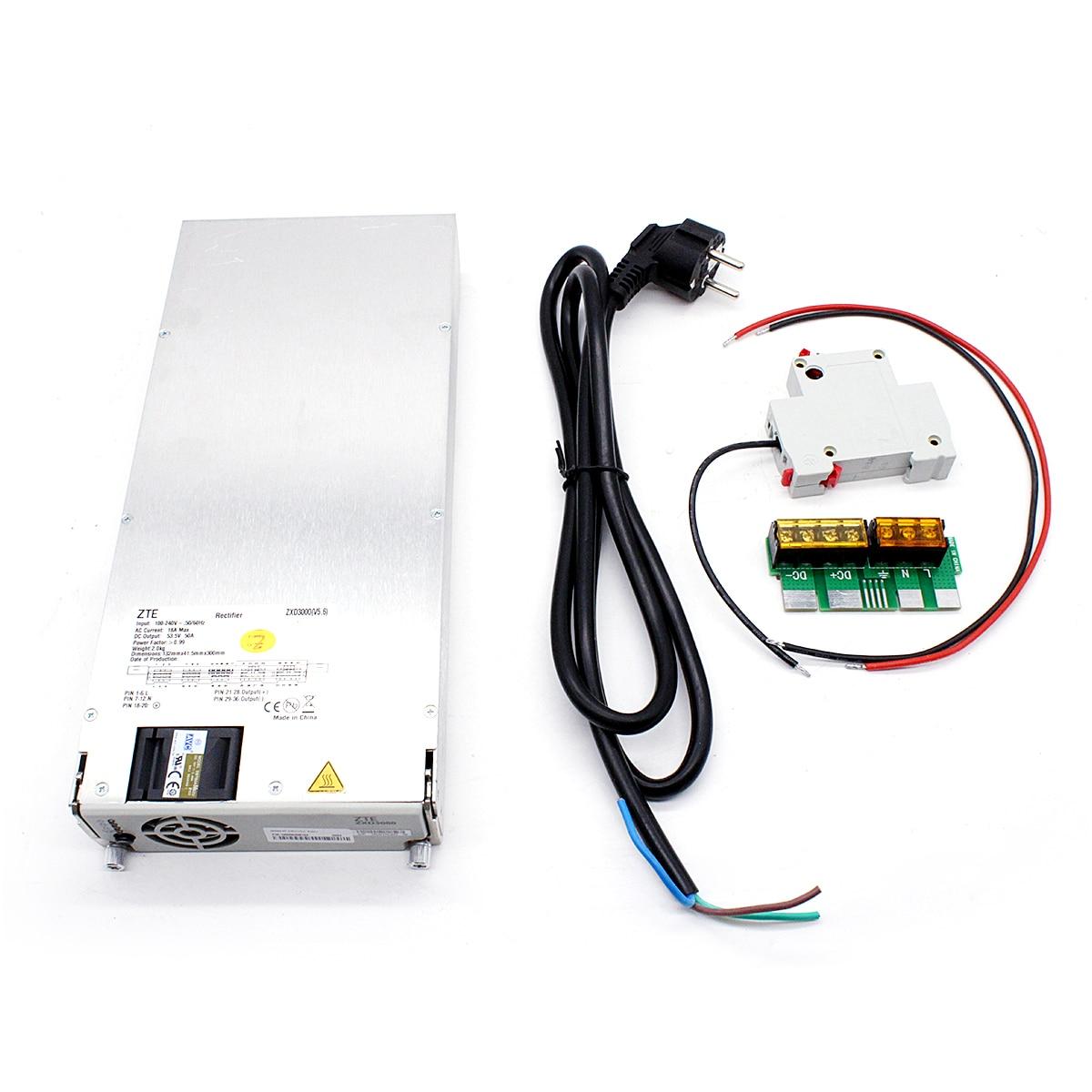 مزود طاقة للتدفئة ZVS ، آلة تسخين بالحث ، 3000 واط ، 48 فولت