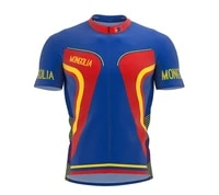 mongolia various choices summer cycling jersey team men bike road mountain race tops riding bicycle wear bike clothes quick dry