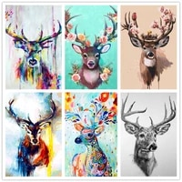 graffiti deer mosaic cross stitch animal diamond painting completely kit home decor crafts diy paint embroidery