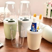 Hot Sale Cartoon Toothbrush Cover Cup Portable Travel Toothbrush Cover Cup Bathroom Organizer For Ad