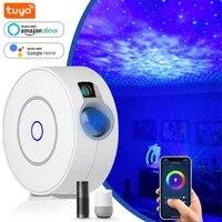 Projecteur de ciel etoile de lumiere de projecteur de WiFi intelligent de Tuya chaud Compatible avec la voix de soutien dassistant a la maison dalexa et de Google