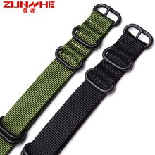 La montre en toile à bracelet en nylon otan avec un substitut homme et femme seiko civic 18 19 20 21 22mm.