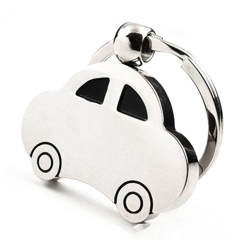 Llavero con estilo para coche, colgante de llavero de Auto modelo, regalo para Abarth Citroen Fiat VW LADA Mazda Skoda Opel Lexus ISUZU Jeep
