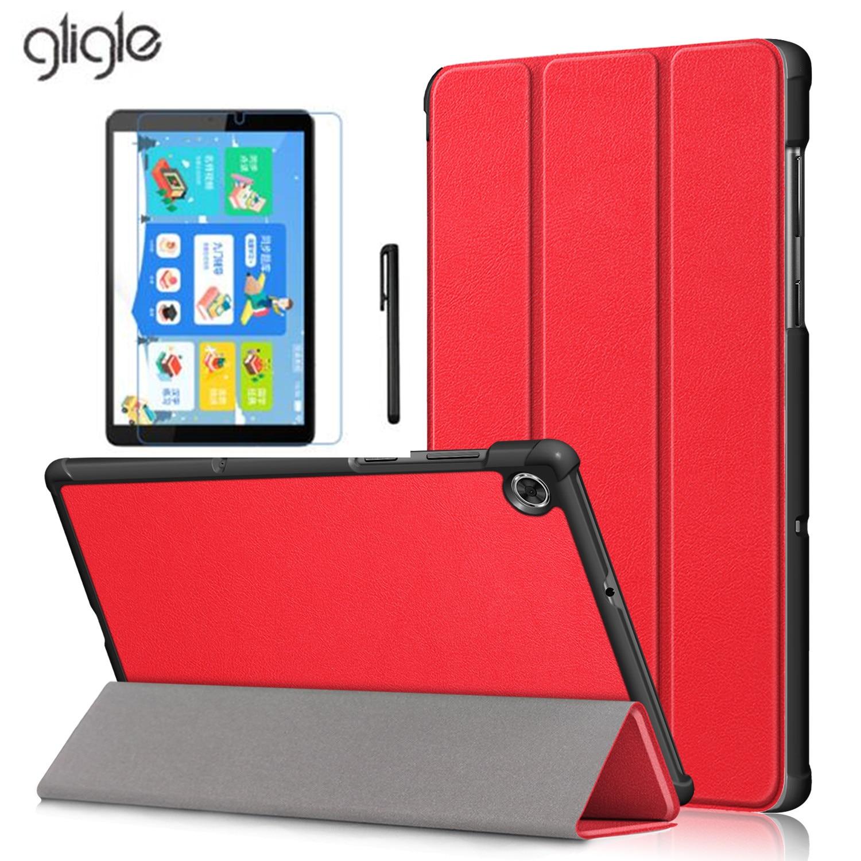 Gligle кожаный чехол для планшета Lenovo Tab M10 FHD плюс TB-X606F TB-X606X полный корпус защитный чехол смарт-чехол для планшета