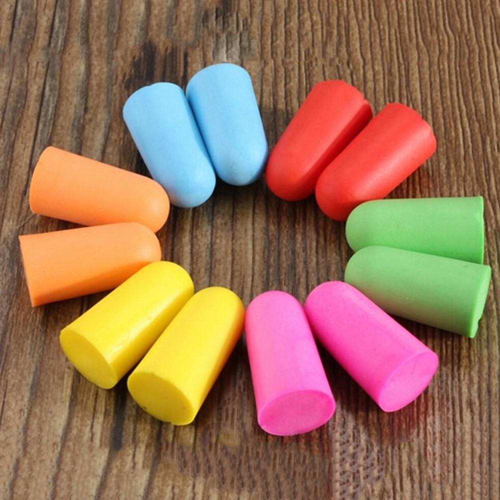 1 par de espuma macio tampões de ouvido natação proteção earmuffs ouvido redução ruído sono norope tampões