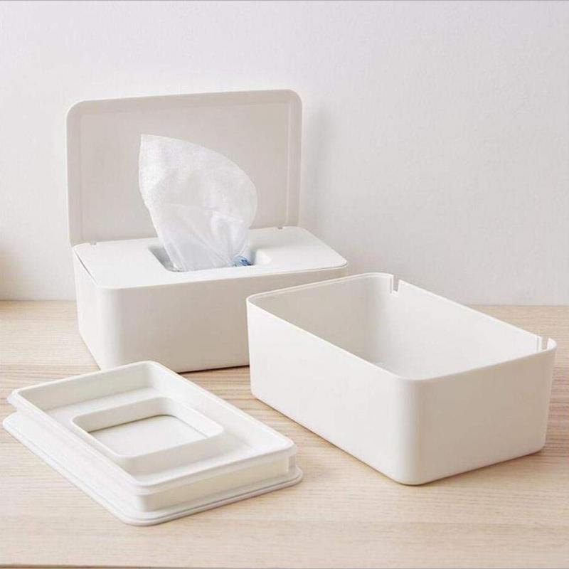 Caja de pañuelos, dispensador de toallitas humedad, caja de pañuelos húmedos secos, caja de pañuelos, Caja de almacenaje de pañuelos, contenedor