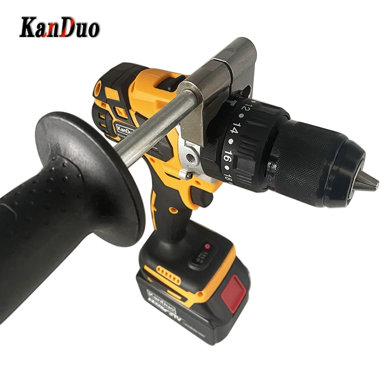 cordless drill 21v power tools 3 in 1 with impact function rotary tool electric screwdriver 21V 13MM Brushless Electric Drill 180N/M 5.4ah Battery Cordless Screwdriver With Impact Function Can Ice Fishing Power Tools