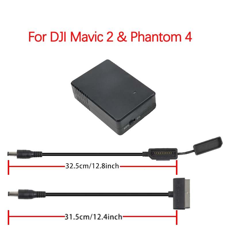 For DJI Mavic 2 Pro Zoom&Phantom 4 Serie Drone Battery Storage Discharger Maintainer Hub Protector Saver  17.6v 1.5A Accessories