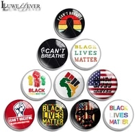 12mm 10mm 16mm 20mm 25mm 30mm 615 i cant breathe mix round glass cabochon jewelry finding 18mm snap button charm bracelet
