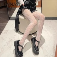 fennasi mesh tights for woman sexy pure white lace ab fishnets nylons pantyhose