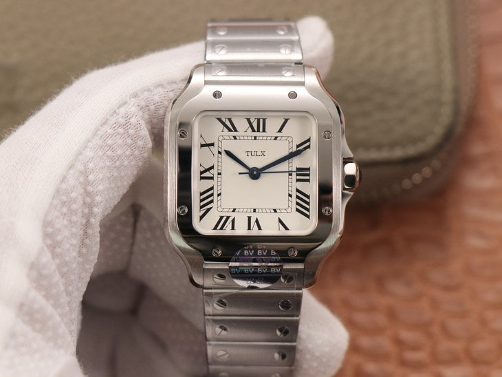 Replica Watches  (women's size 35.1 mm) TULX WSSA0029 Case: 316 material dial  1:1 open mold white dial female watch