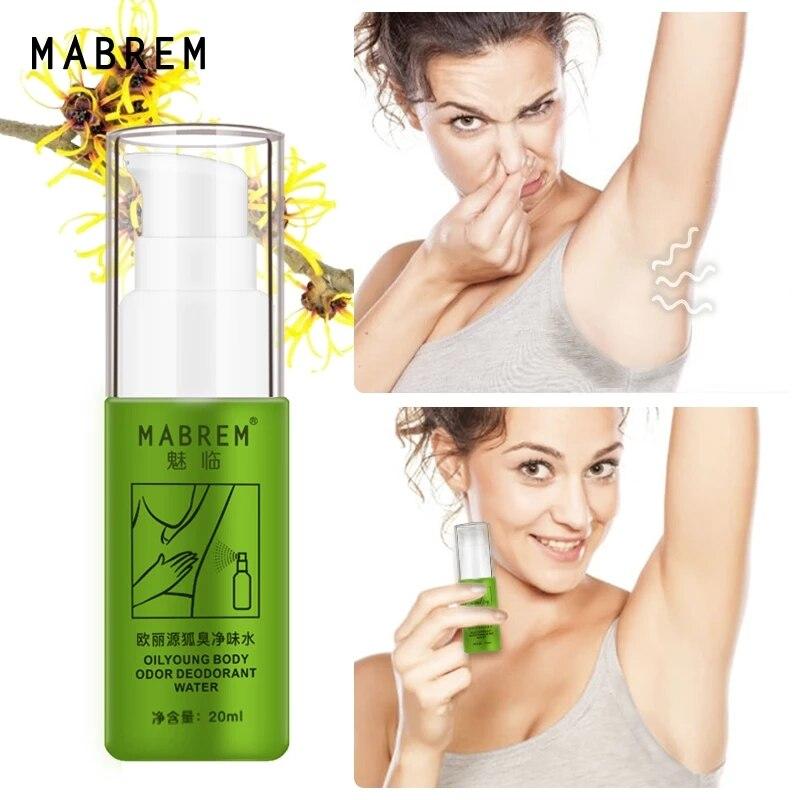 Masbem-Spray de Perfume para hombre y mujer, desodorante corporal, elimina el olor...