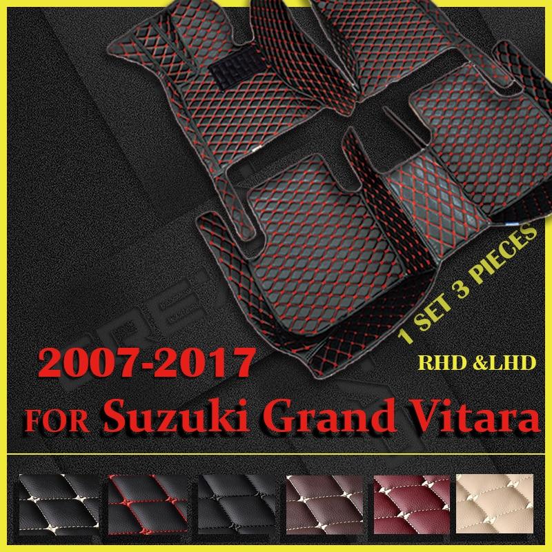 سيارة الحصير لسوزوكي جراند فيتارا (أربعة أبواب) 2007-2009 2010 2011 2012 2013 2014 2015 2016 2017 السيارات القدم منصات السيارات