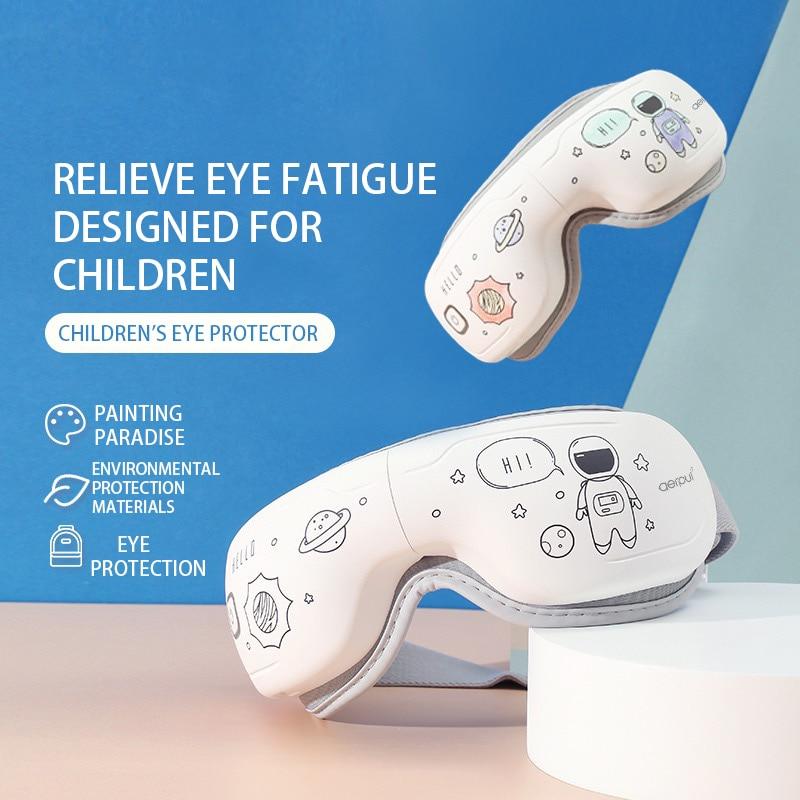 مدلك العين ثلاثي الأبعاد للأطفال ، نمط DIY ، متعة ، منع قصر النظر وتخفيف التعب