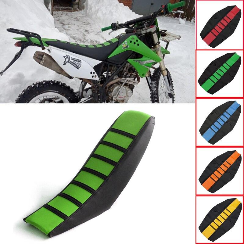 2020 Motorcycle Striped Rubber Soft-Grip Gripper Soft Seat Cover For Honda crf 250 l M SL230 XR230 XR250 XR400 XR125 xr 250 400