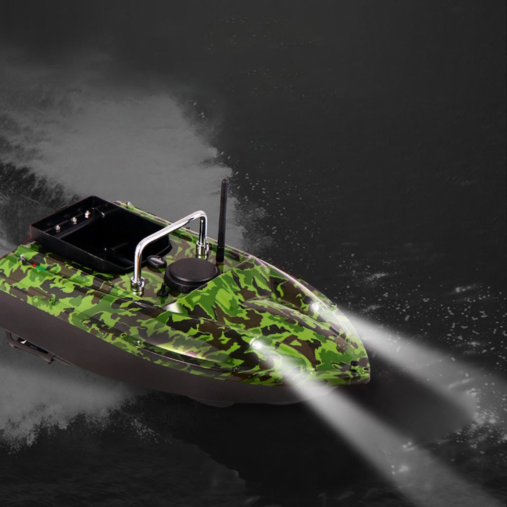 Nesting Boat 500 Meters Intelligent Remote Control Bait Boat Sending Hook Boat High Power Fishing Nesting Boat enlarge